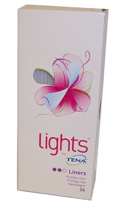 Tena Lights - 24 Liners