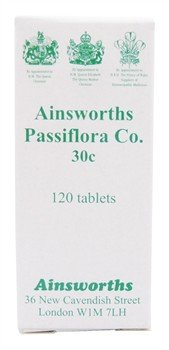 Ainsworths Passiflora Co 30c Homeopathic Remedy - 120 Tablets