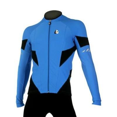 Buy Low Price Etxeondo 2008/09 Men's Arrow Cycling Jacket – Blue/Black – 36062 (B00206KVX8)