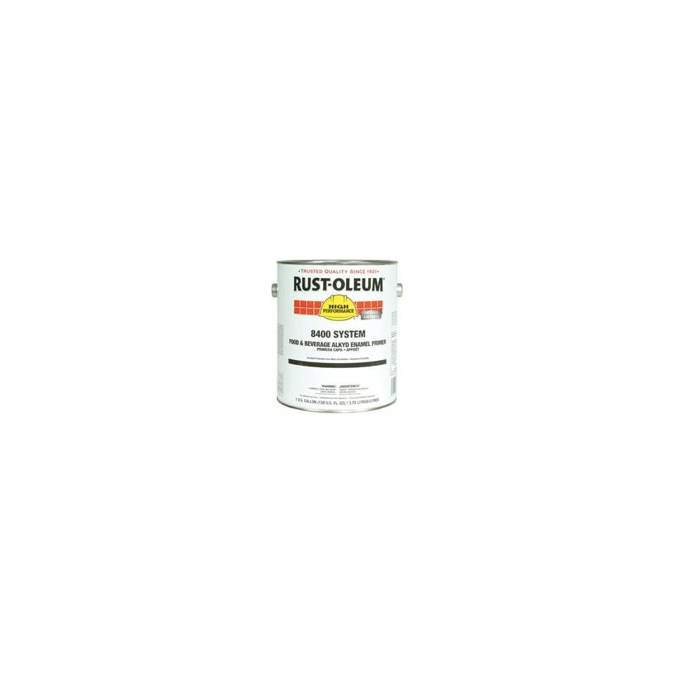 Rust Oleum   High Performance 8400 System Food & Beverage Alkyd Enamels 402 White Clean Metal Primer Ind. Enamel 647 8492402   402 white clean metal primer ind. enamel