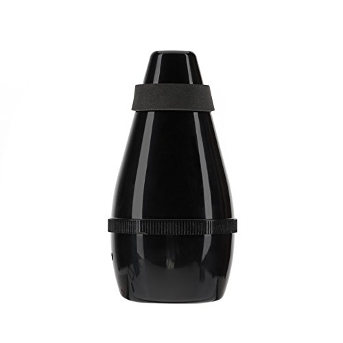 M Y Fly Young Trumpet Practice Mute Trumpet Cornet Silencer Light-weight Plastic (Black)
