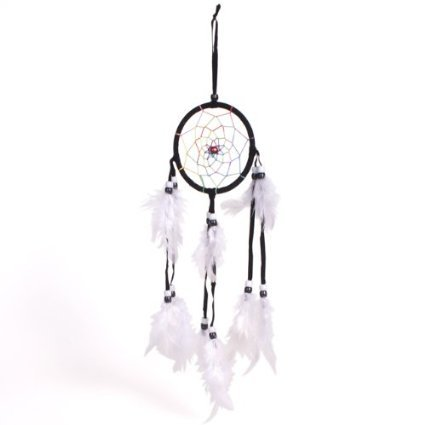 Dreamcatcher Small & Round One Hoop Traditional Dream Catcher. By Simpleearth Fantasy Gifts.