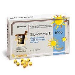 Bio Vitamin D3 Capsules 25mcg Pack of 80