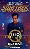 Greg Cox Q-zone (Star Trek: The Next Generation)