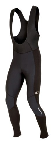 Pearl Izumi Men's Elite Barrier Thermal Cycling Bib Tight - Black/ Black, Small