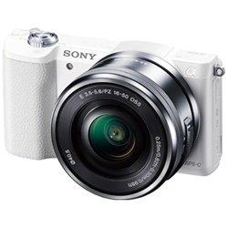 ソニー デジタル一眼カメラ「α5100」パワーズームレンズキット(ホワイト)SONY α5100 ILCE-5100L-W