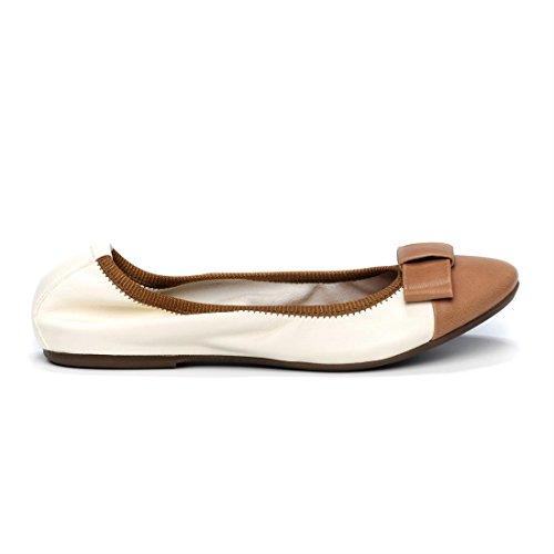 FRAU 70L2, Ballerine donna nero nero 36 beige Size: 36