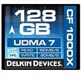 Delkin DDCFCOMBAT1000-128GB 128GB CF 1000X UDMA 7 Memory Card