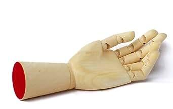 モデルハンド左手(木製) DK-1096