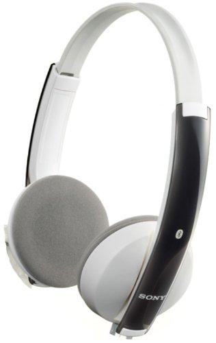 SONY Bluetoothステレオヘッドセット マイク付き ホワイト DR-BT101/W