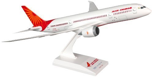 daron-skymarks-air-india-787-8-airplane-model-building-kit-1-200-scale-by-daron