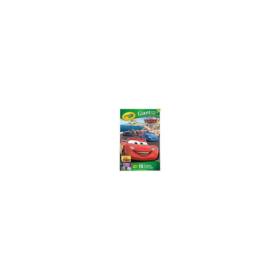 Crayola Giant Coloring Pages Disney Pixar Cars 2 on PopScreen