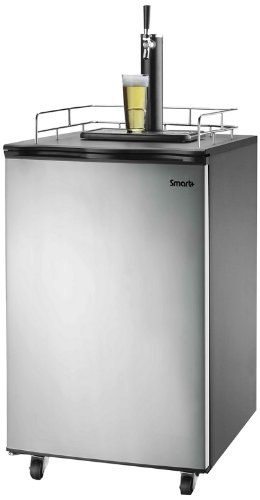 Cheapest Price! Smart+ Products SPP155BDSS Freestanding Keg Kegerator Beer Fridge Dispenser, Full, S...