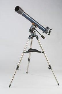 Celestron 70Az Astromaster Telescope, Starpointer; Erect Image; 70Mm Ap.; F13; 45X, 90X; Altazimuth