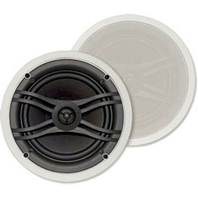Yamaha NSIW360C 2-Way In-Ceiling Speaker System, White (2 Speakers)