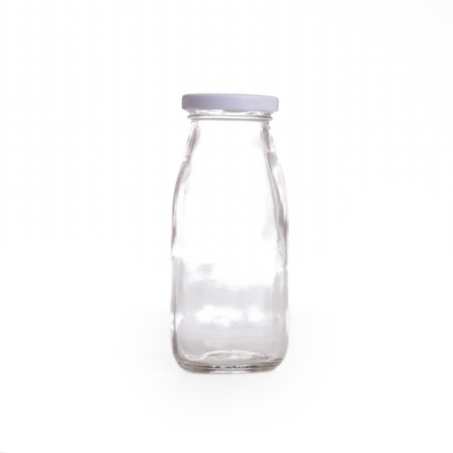 Best Deals! Dress My Cupcake DMC93341 12-Pack Vintage Glass Milk Bottles, 8-Ounce
