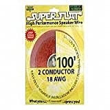 Cables Unlimited SuperFlat 100ft 18Awg Speaker Wire (AUD-5400-99)