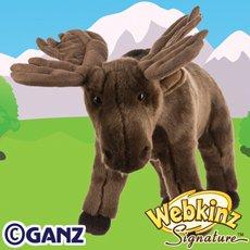 Ganz Webkinz Signature Moose Plush