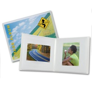 Itoya Zigzag Frost Photo Albums 11 In. X 8 1/2 In. Landscape
