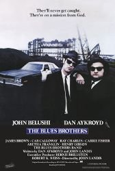 The Blues Brothers Movie (Sitting On Car, Credits) Poster Print - 24x36
