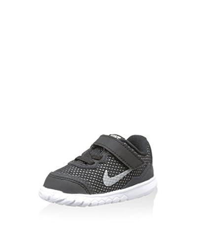 Nike Sneaker Jr Flex Experience 4 Tdv [Nero/Argento]