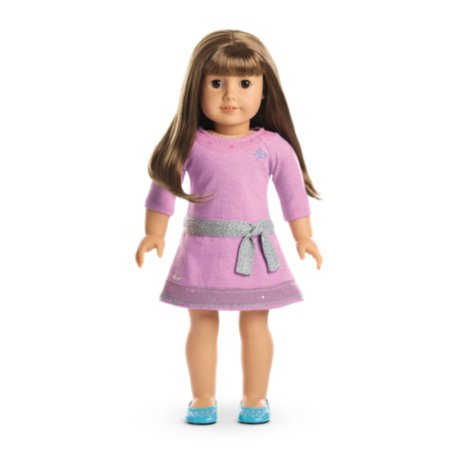 American Girl - Truly MeTM Doll: Light Skin, Brown Hair with Bangs, Brown Eyes DN13