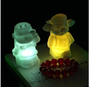 Colorful Pig Eight Quit Night Light Cute Night Light