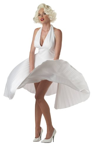 Deluxe Marilyn Adult Costume - Adult Costumes