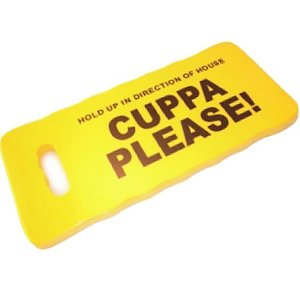 Gardening Kneepads - Cuppa Please Kneeling Pad