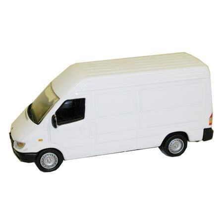 HO Die-Cast Mercedes Benz Sprinter Van, White