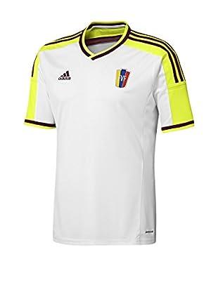 adidas Camiseta de Fútbol (Blanco)