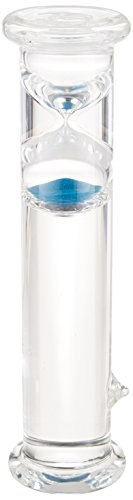 G.W. Schleidt STC8003-B Newton Gravity Glass Timer 3 Minute Blue Sand 10-Inch (Gw Schleidt Timer compare prices)