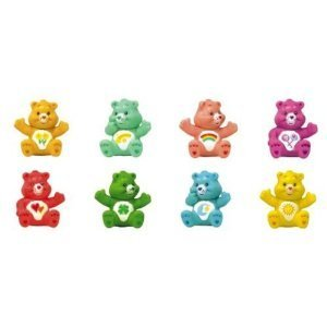 Care Bears Figures Set -- 8 Vending Machine Toys (Vending Machine Animals compare prices)