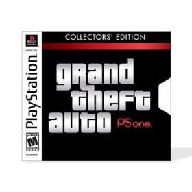 Grand Theft Auto: Collector's Edition - PlayStation