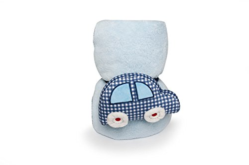 Kidsline Roadmap Boa Blanket, Plush Huggie - 1