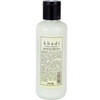 Khadi - Green Tea Aloe Vera Herbal Conditioner - 210Ml