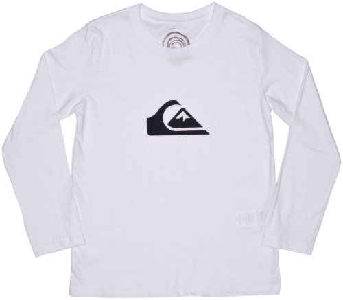 Quiksilver Long Sleeve Basic Logo Youth Boy's Sweatshirt