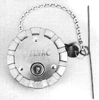 Velvac Locking Fuel Cap 600185-6
