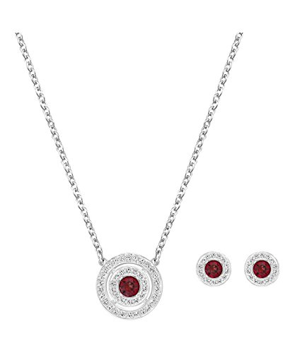SWAROVSKI - Collana e Orecchini Set doppio Attract Red Light SWAROVSKI 5.160.907