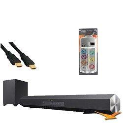 Sony HTCT260 Surround Sound Speaker Bar and Wireless Subwoofer Hookup Kit