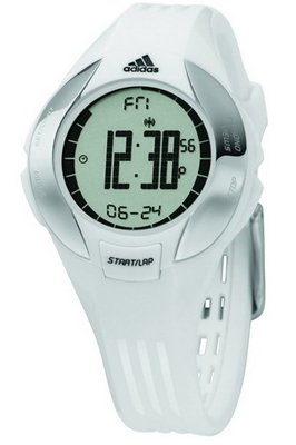adidas Women's ADP1904 Chronograph White Rubber Watch