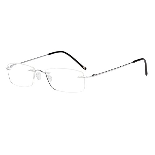 LianSan Titanium Lightweight Reading Glasses Men Womens Fash