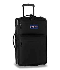 "JanSport Upright 22"" (M) Wheeled Luggage Suitcase/Bag (Black)"