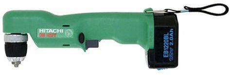 Hitachi DN12DYK 12-Volt Ni-Cad 3/8-Inch Cordless Right Angle Drill/Driver Kit