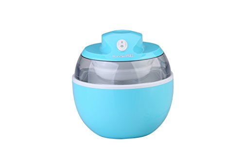 SunSir Home Mini Automatic Ice Cream Maker, Frozen Yogurt & Sorbet Dessert Maker for Kids Funny-Use Your Own Healthy Ingredients (Blue) (Ice Cream Frozen Yogurt Maker compare prices)