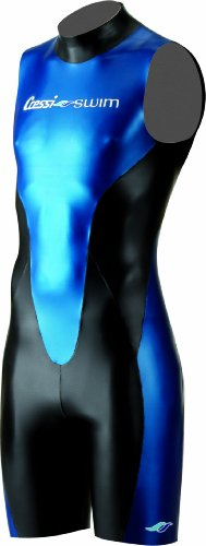 Cressi Swim Men's Glaros Shorty Swim Wear - Black/Blue, 2