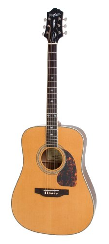 lowest price epiphone dr 500m masterbilt collection flat top acoustic guitar natural gloss. Black Bedroom Furniture Sets. Home Design Ideas