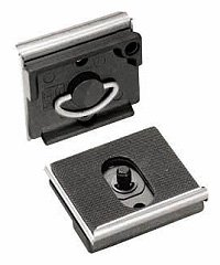 Manfrotto 200PLARCH-14 RC2 Rapid Connect Architectural Mounting Plate with 1/4-Inch 20 Screw (Gray)
