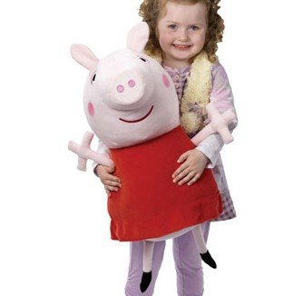 Big Peppa Pig 62Cm 24.5Inch Baby Pink Plush Doll Stuffed Plush Toy Ddstore
