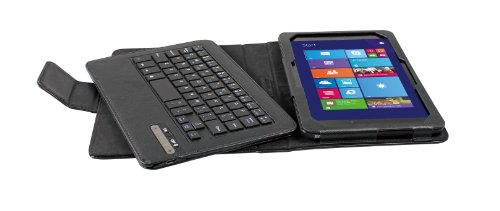 IVSO KeyBook Bluetooth Keyboard Case for DELL Venue 8 Pro (Windows 8.1) Tablet - will only fit DELL Venue 8 Pro (Windows 8.1) Tablet with Removable Keyboard
